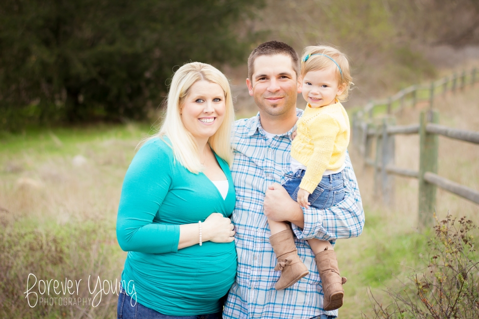 The DePrizio Family | Maternity Portraits | Mission Trails-2