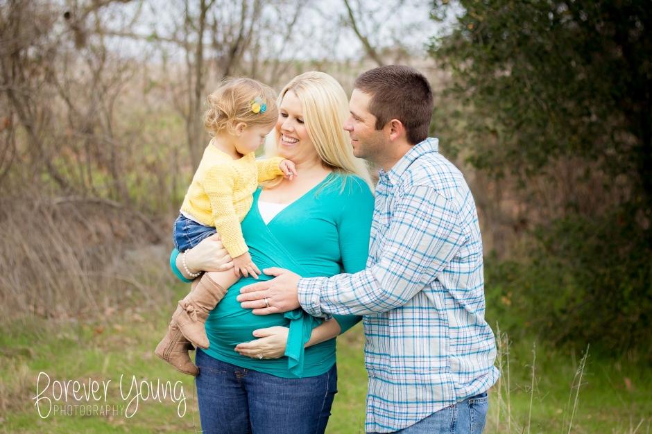 The DePrizio Family | Maternity Portraits | Mission Trails-9