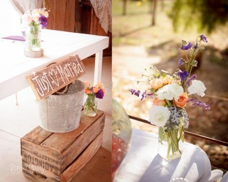 Taylor & Travis York | Red Barn Ranch Wedding | San Diego, CA 8
