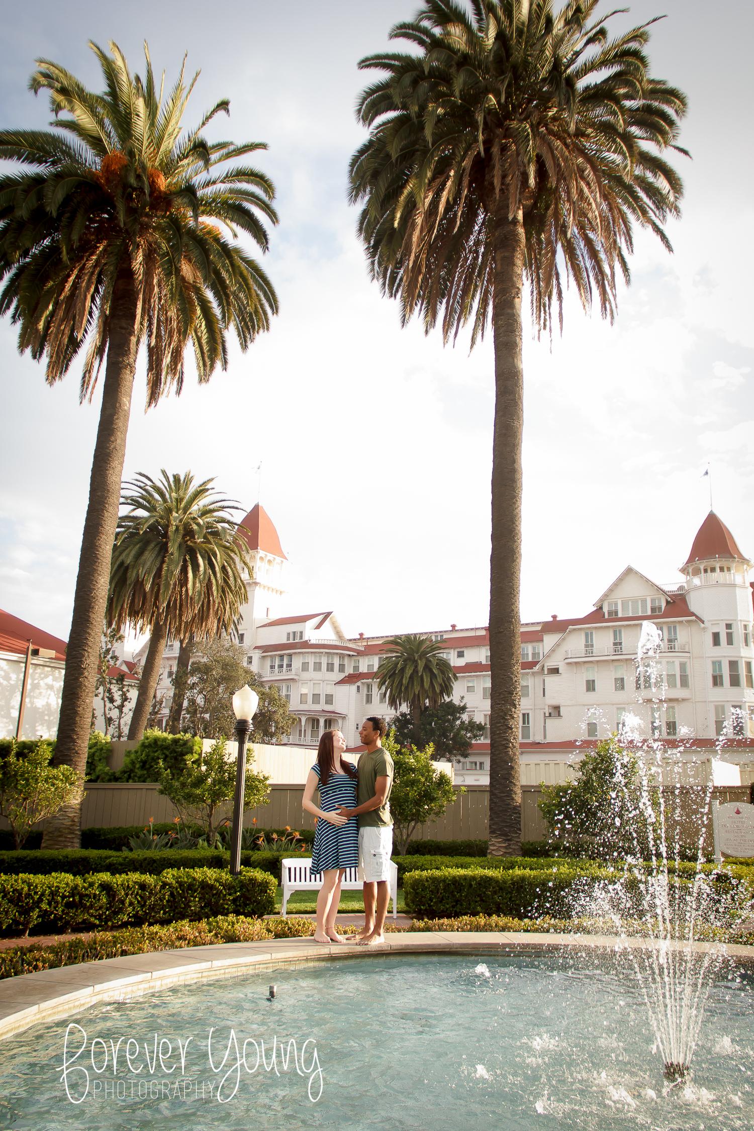 Maternity Portraits | Hotel Del | San Diego, CA-17