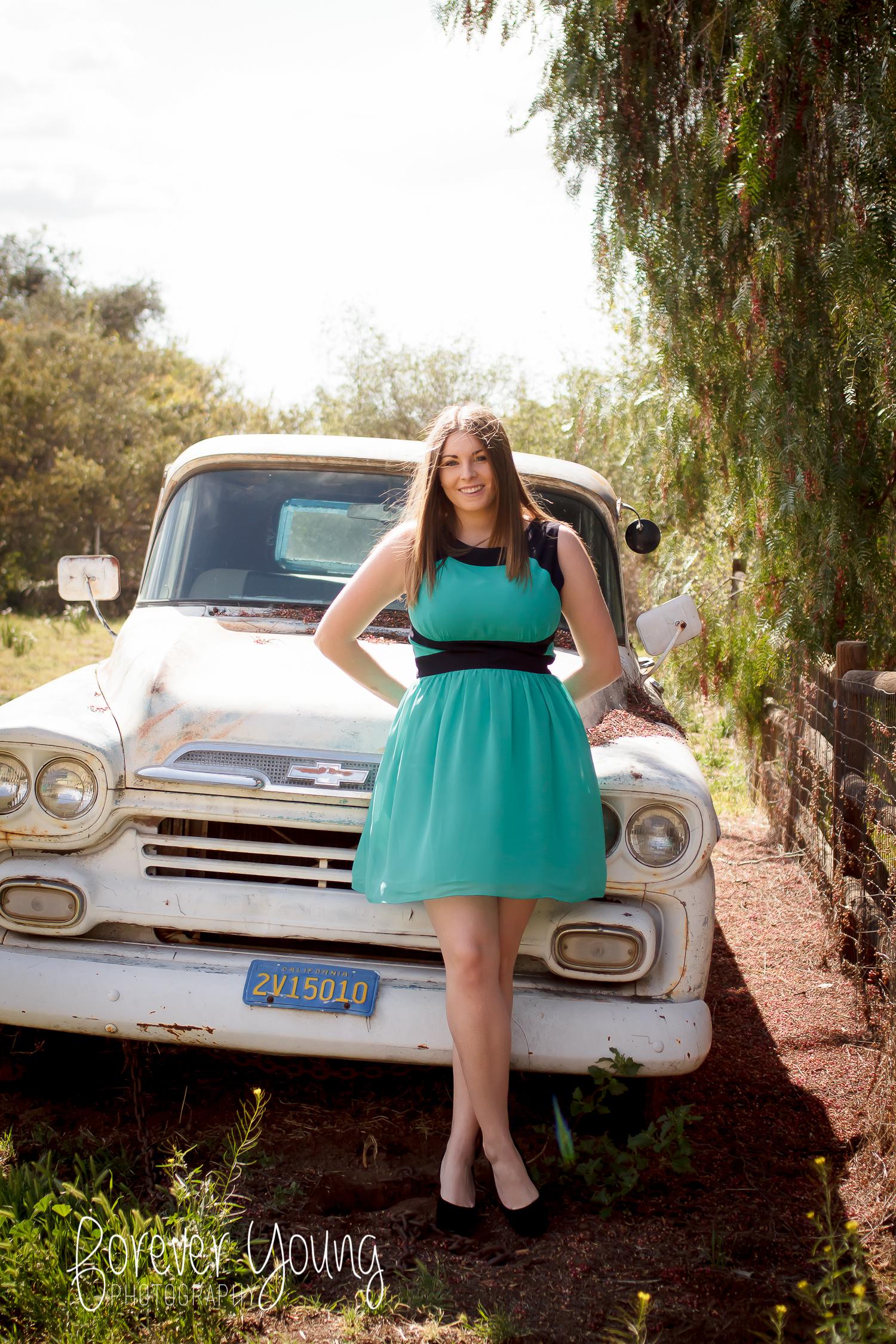 Madison Senior Portraits | Summers Past Farm