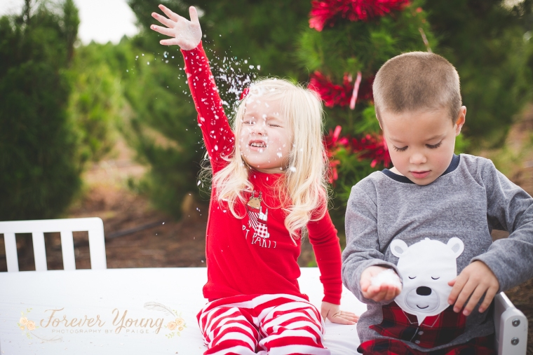 San Diego Christmas Tree Farm Photoshoot | Forever Young Photography By Paige-105
