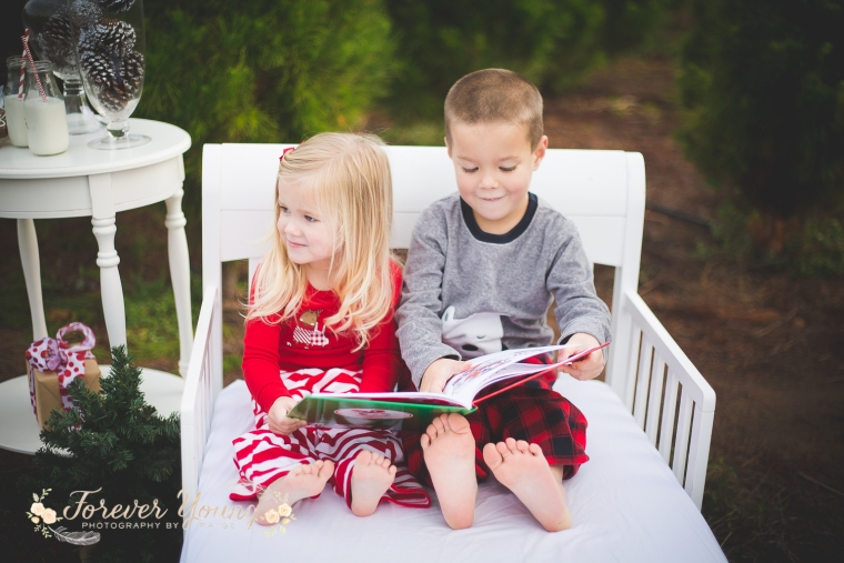 San Diego Christmas Tree Farm Photoshoot | Forever Young Photography By Paige-30