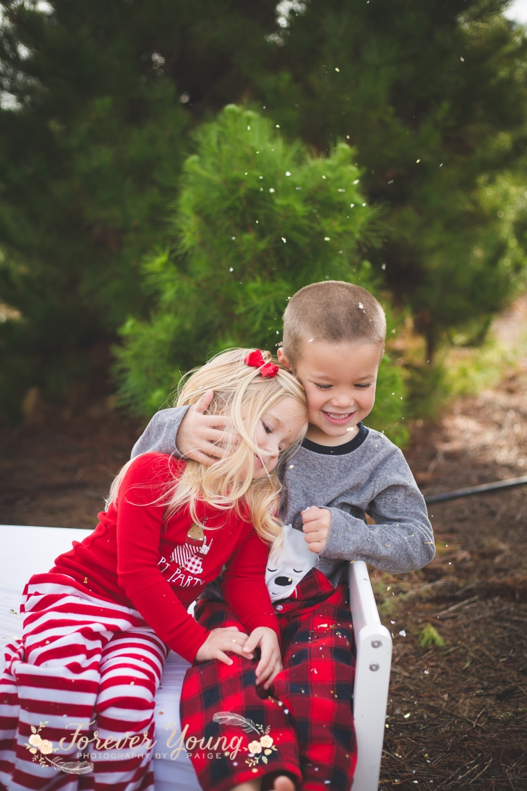 San Diego Christmas Tree Farm Photoshoot | Forever Young Photography By Paige-50