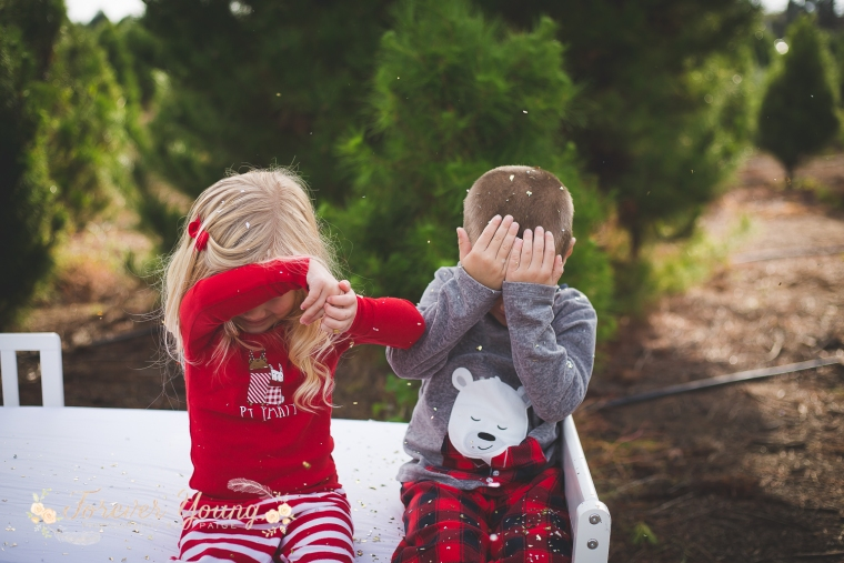 San Diego Christmas Tree Farm Photoshoot | Forever Young Photography By Paige-52