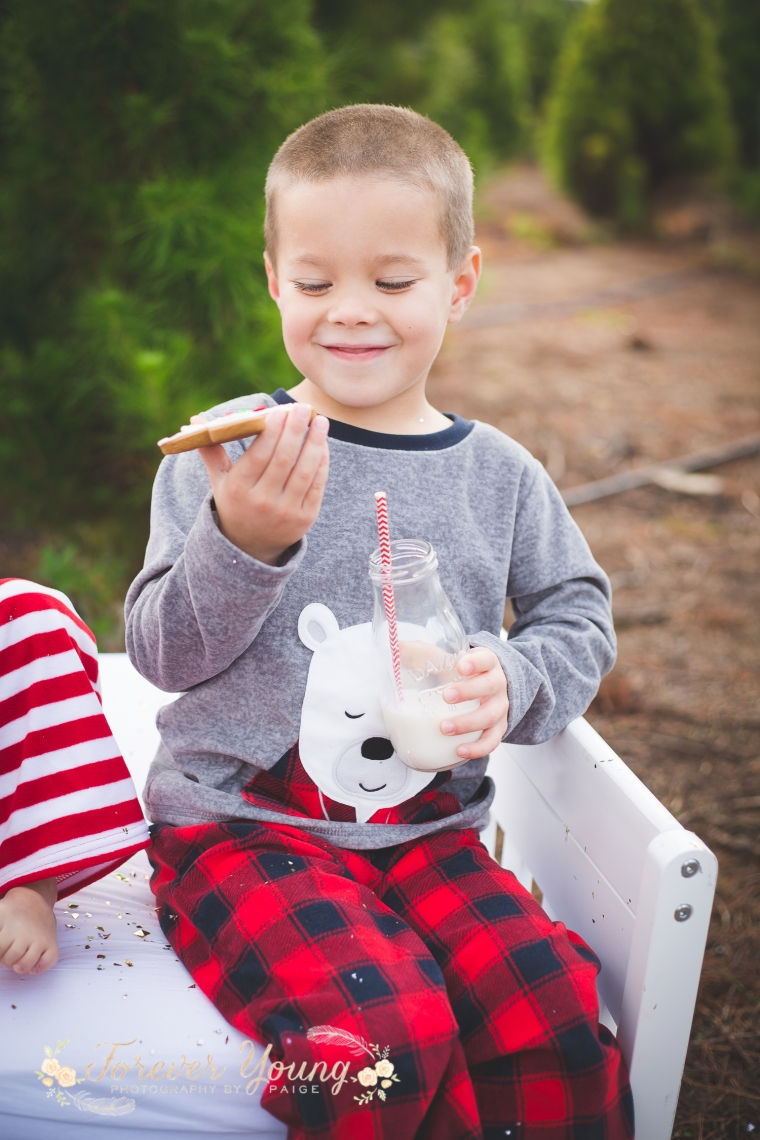 San Diego Christmas Tree Farm Photoshoot | Forever Young Photography By Paige-67