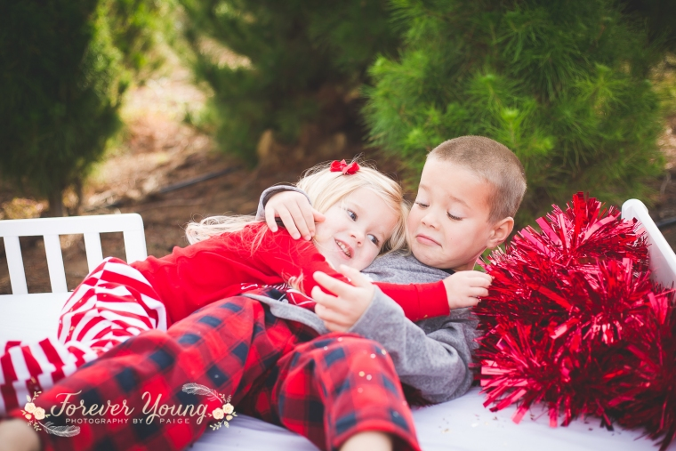 San Diego Christmas Tree Farm Photoshoot | Forever Young Photography By Paige-82