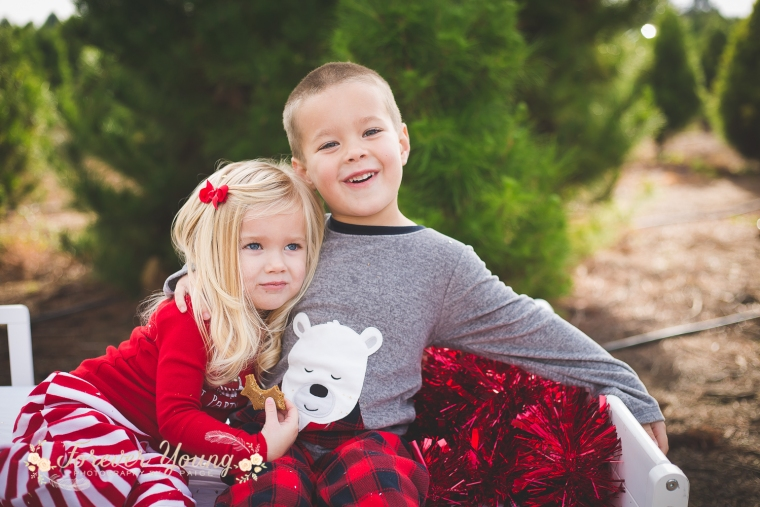 San Diego Christmas Tree Farm Photoshoot | Forever Young Photography By Paige-83