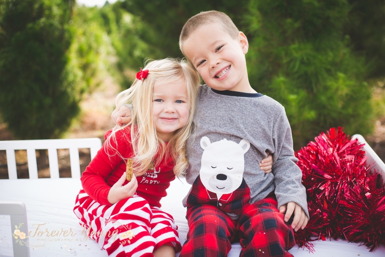 San Diego Christmas Tree Farm Photoshoot | Forever Young Photography By Paige-85