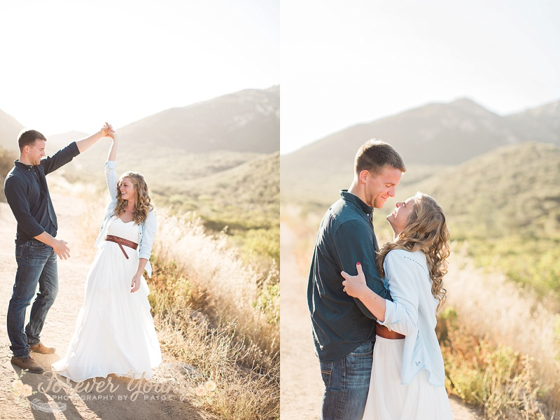 Iron Mountain | The Sytsma's One Year Anniversary Portrait Session 010