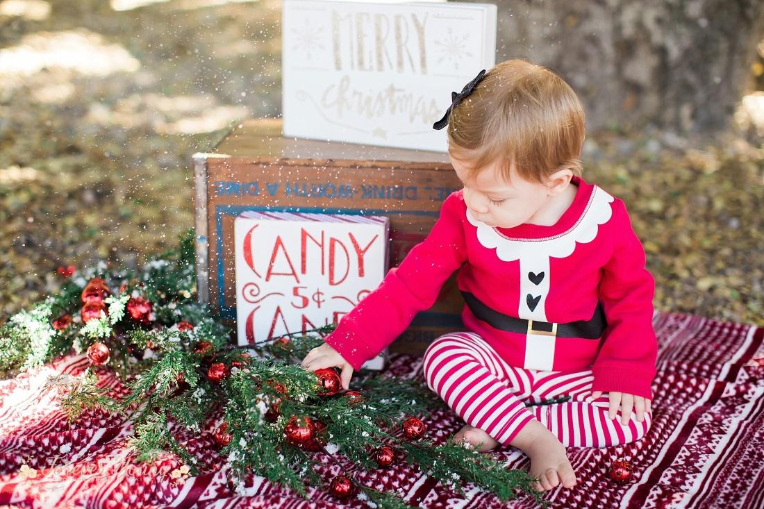 San Diego Christmas Family Portraits